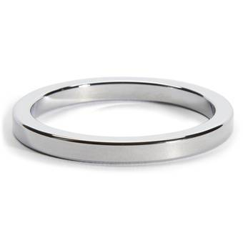 DOMINIX Deluxe 2 Inch Stainless Steel Cock Ring