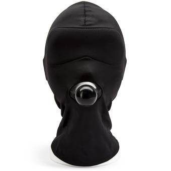 Bondage Boutique Blindfold Mask with Small Ball Gag