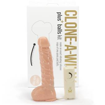 Clone-A-Willy and Balls Vibrator