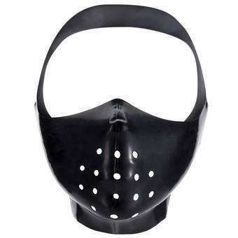 Renegade Rubber Latex Gimp Mask