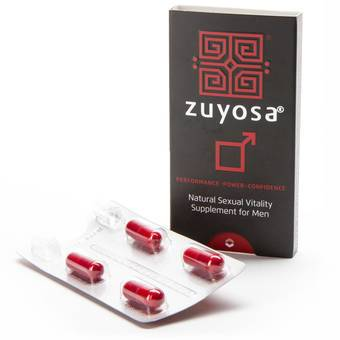 Zuyosa Sexual Vitality Supplement for Men (4 Capsule)