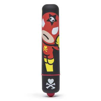 tokidoki x Lovehoney Justice Single Speed Mini Bullet Vibrator
