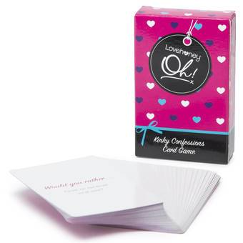 Lovehoney Oh! Kinky Confessions Card Game