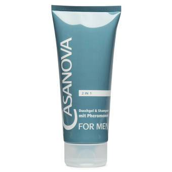 Casanova Pheromone Shower Gel and Shampoo for Men 200ml