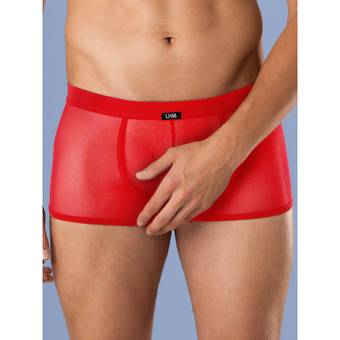 LHM Red Mesh Boxer Shorts