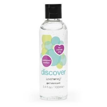 Lovehoney Discover Water-Based Anal Lubricant 3.4 fl oz