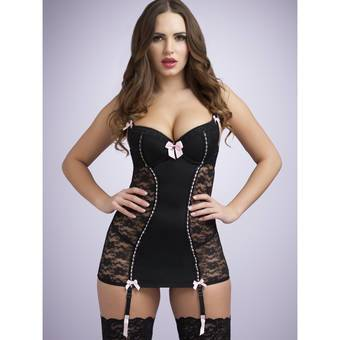 Lovehoney Seduce Me Push-Up Chemise Set