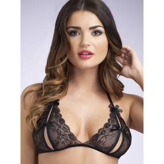 Lovehoney Lace Peek-a-Boo Bra