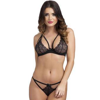 Lovehoney BH-Set mit Ouvert-String