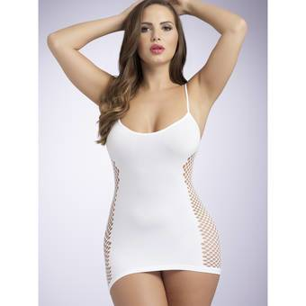 Lovehoney Hourglass White Mini Dress