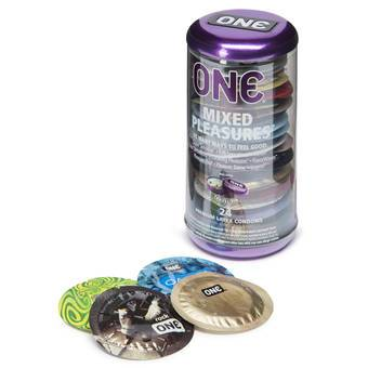 ONE Mixed Pleasures Condoms (24 Count)