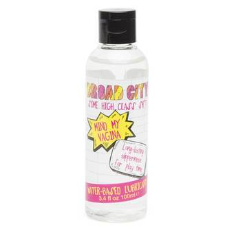 Broad City Water-Based Sex Toy Lubricant