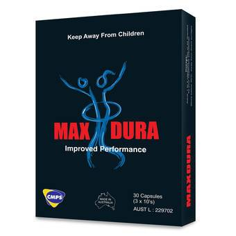 MaxDura Performance Enhancer Pills (30 Capsules)