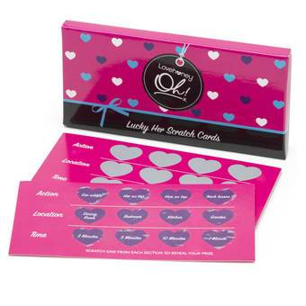 Lovehoney Oh! Scratch Cards for Her (10 Pack)