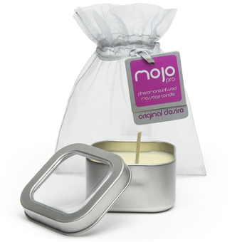 Mojo Pro Original Desire Pheremone Soy Massage Candle