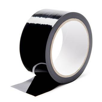 Fetish Fantasy Pleasure Bondage Tape Black