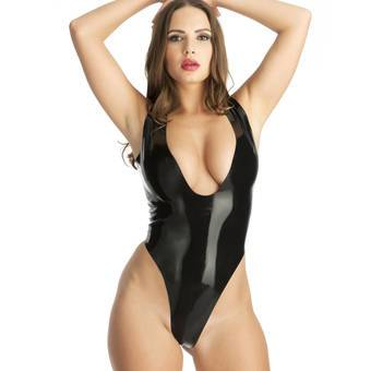 Rubber Girl Latex-Body ouvert