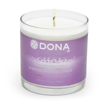 DONA Sassy Tropical Tease Pheromone Massage Candle (135g)