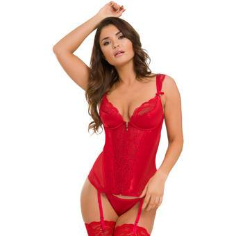 Fortieth wedding anniversary - ruby - satin chemise
