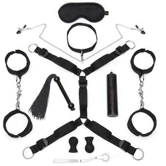 Lovehoney Kinky Couple Mega Bondage Kit (10 Piece)