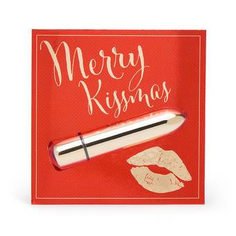 Lovehoney Merry Kissmas 10 Function Bullet Vibrator