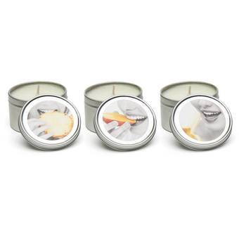 Earthly Body Tropical Trio Massage Candle Set