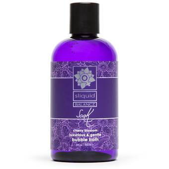 Sliquid Balance Soak Cherry Blossom Bubble Bath 255ml