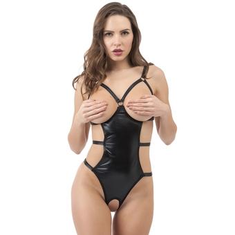 Lovehoney Fierce Wet Look Open Cup Body
