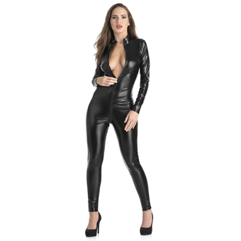 Lovehoney Fierce Wet Look Zipper Catsuit