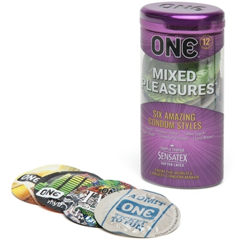 ONE Mixed Pleasures Condoms 12 Pack (UK/Europe)