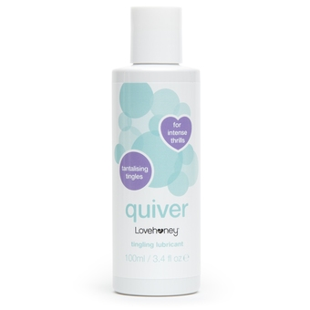 Lovehoney Quiver Tingling Lubricant 100ml