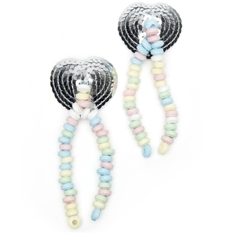 Sequin Candy Nipple Tassels
