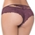 Seven 'til Midnight Plum Lace Cut-Out Thong