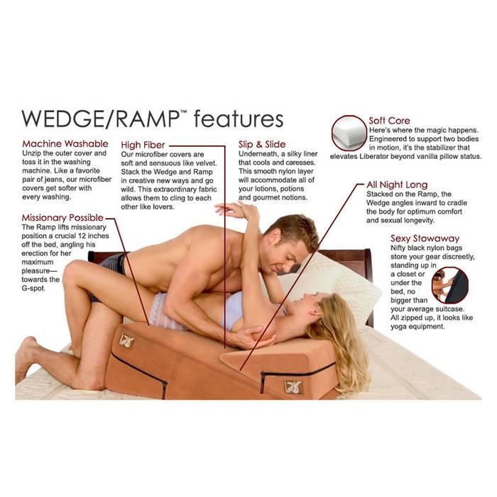 liberator wedge ramp combo positions