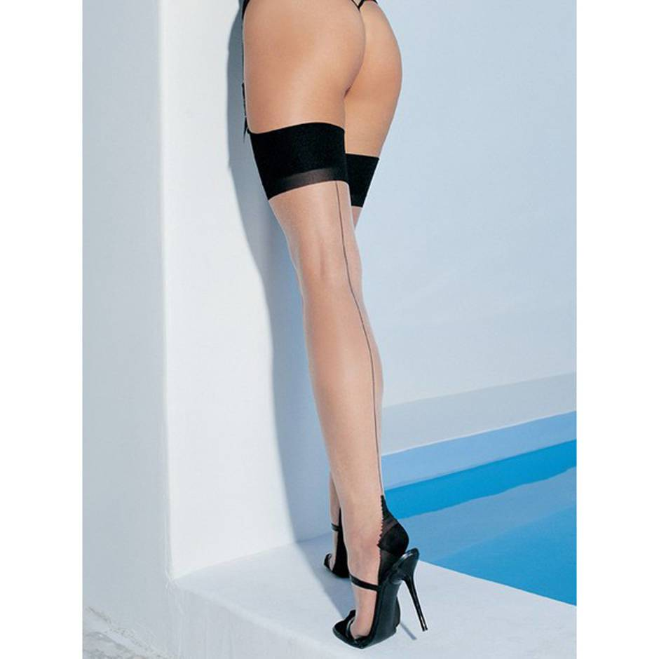 Leg Avenue Cuban Heel Stockings
