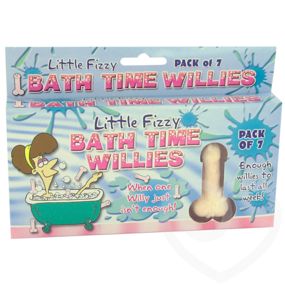 Little Fizzy Bath Time Willies