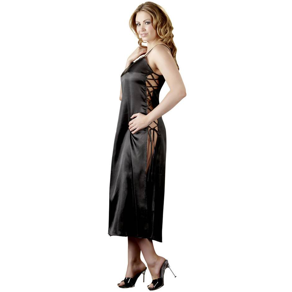 Cottelli Full Length Satin Chemise
