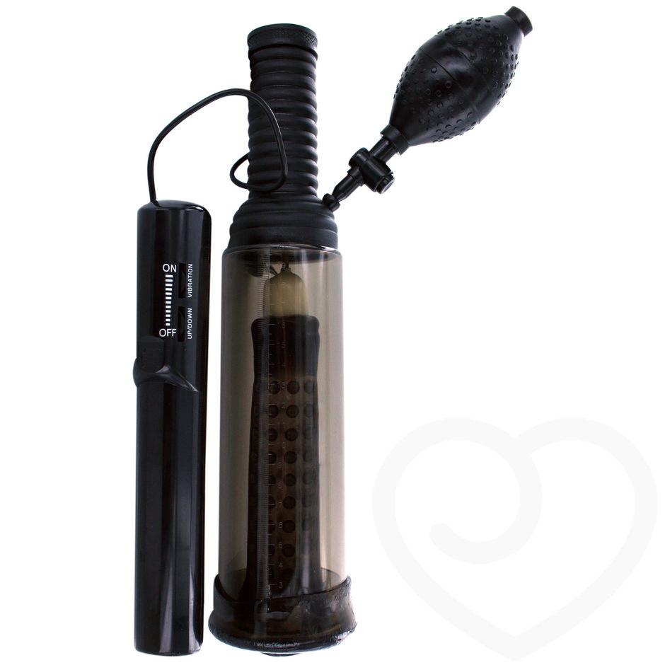 Black jack stroker penis pump