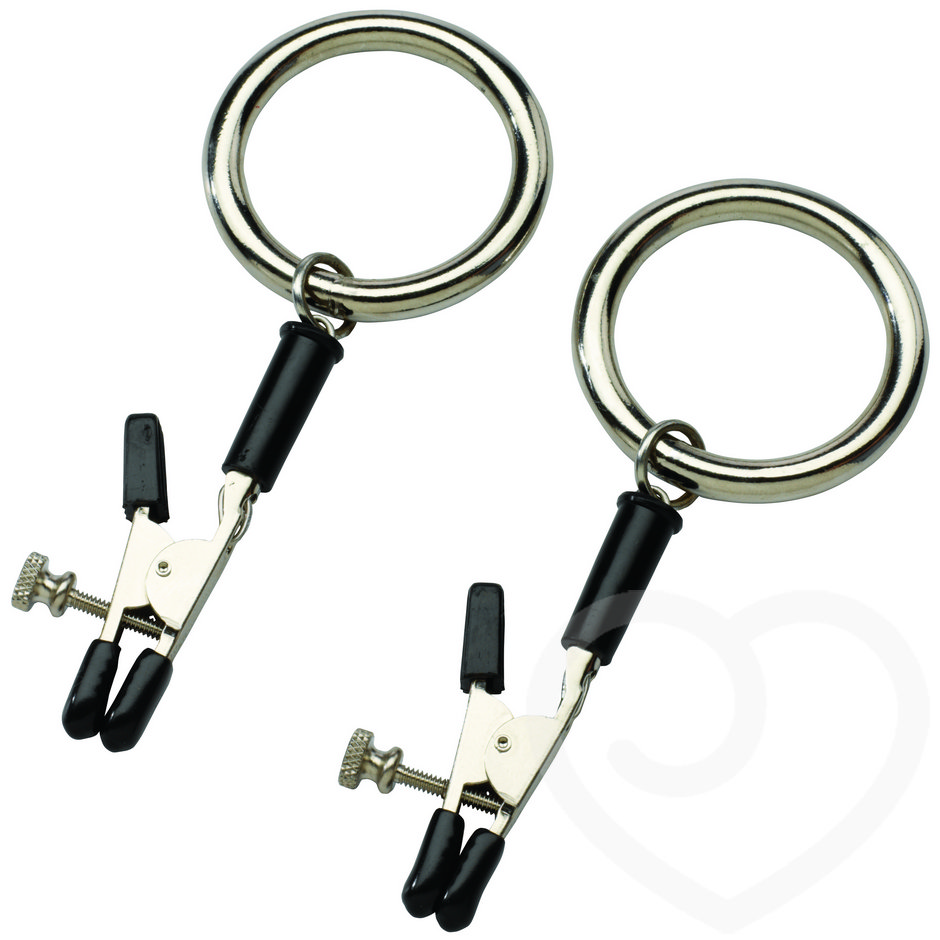 Spartacus Bully Nipple Clamps With Rings