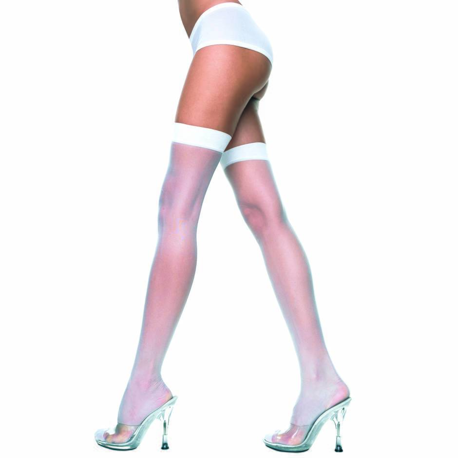 Music Legs Plus Size Suspender Stockings