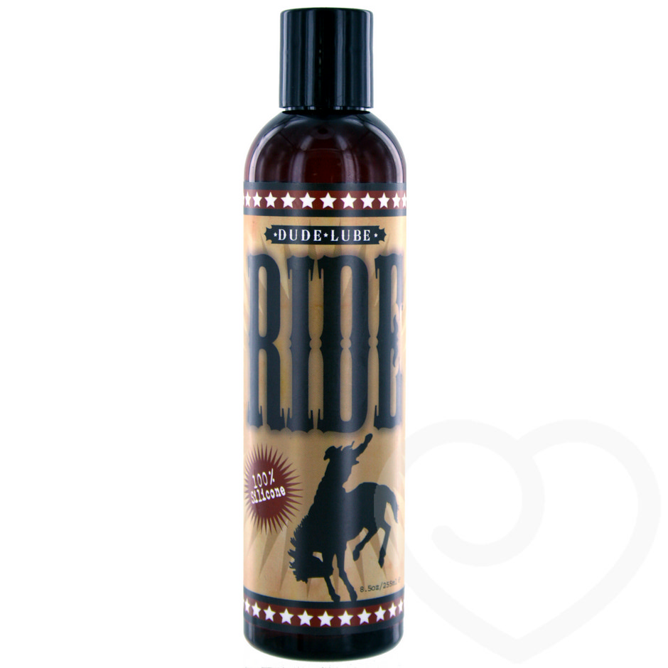 "Sliquid Ride Gleitmittel ""Dude Lube"" auf Silikonbasis, 255 ml"