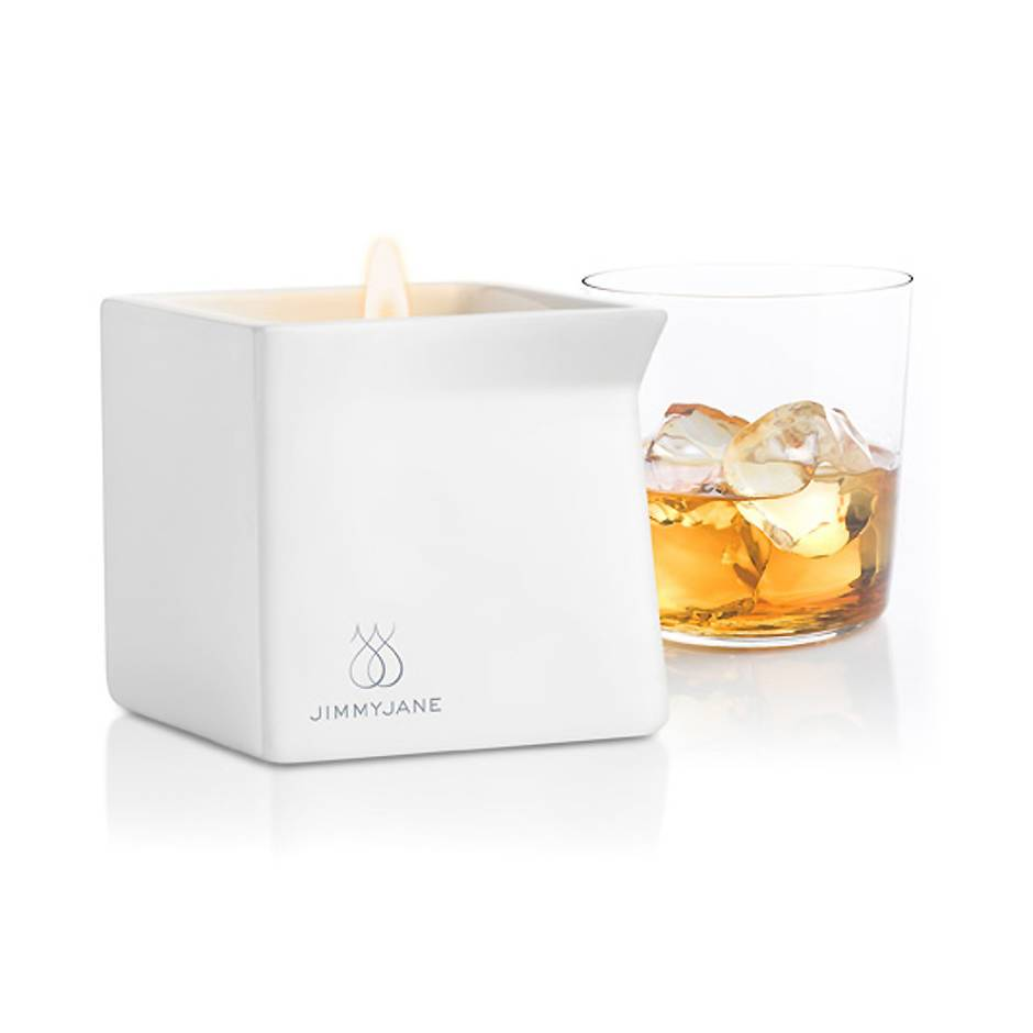 Bougie de massage parfum whisky Afterglow 128 g, Jimmyjane