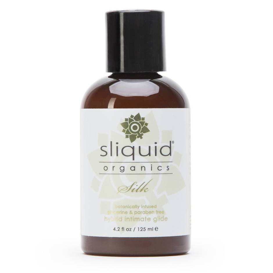 Sliquid Organics Natural Silk Hybrid Lubricant 125ml