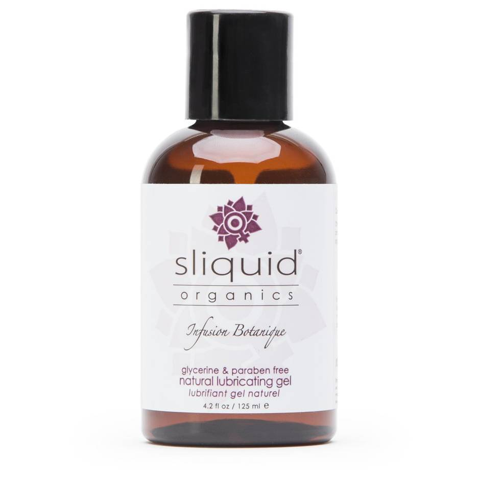 Sliquid Organics Natural Gel Lubricant 4.2 fl oz