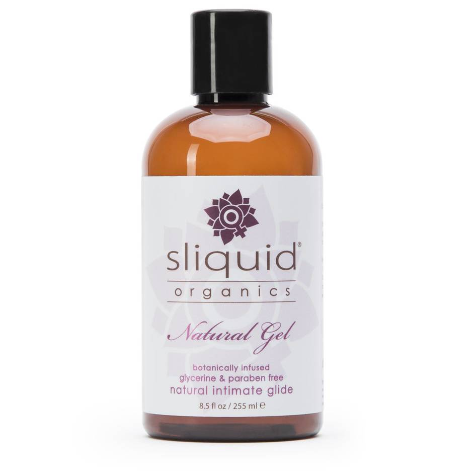Sliquid Organics Natural Gel Lubricant 255ml