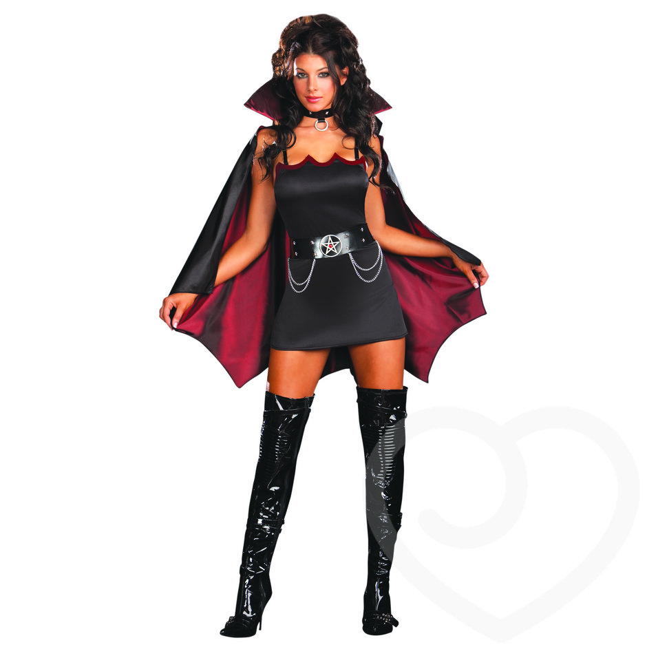 Dreamgirl Fang Banging Five Piece Vampire Costume