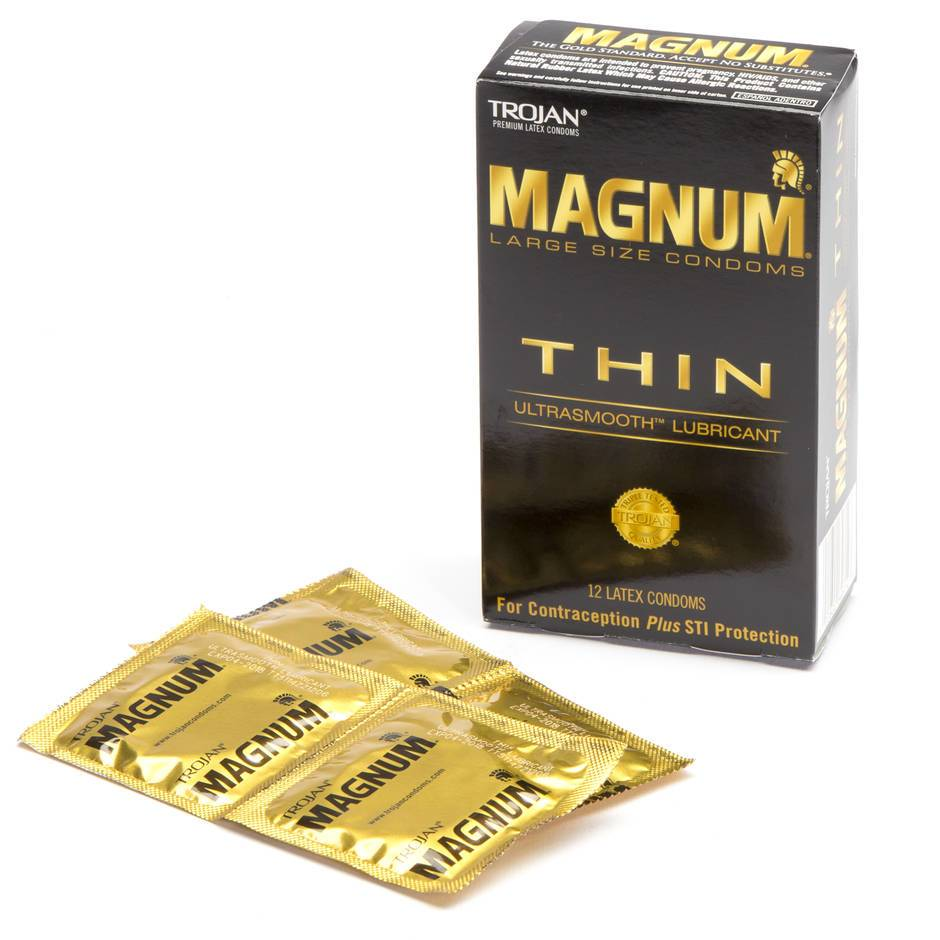 Trojan Magnum Large Ultra Thin Condoms (12 Count)