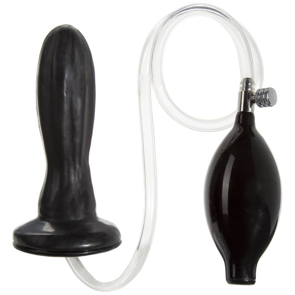 Doc Johnson TitanMen Analplug aus Latex zum Aufpumpen
