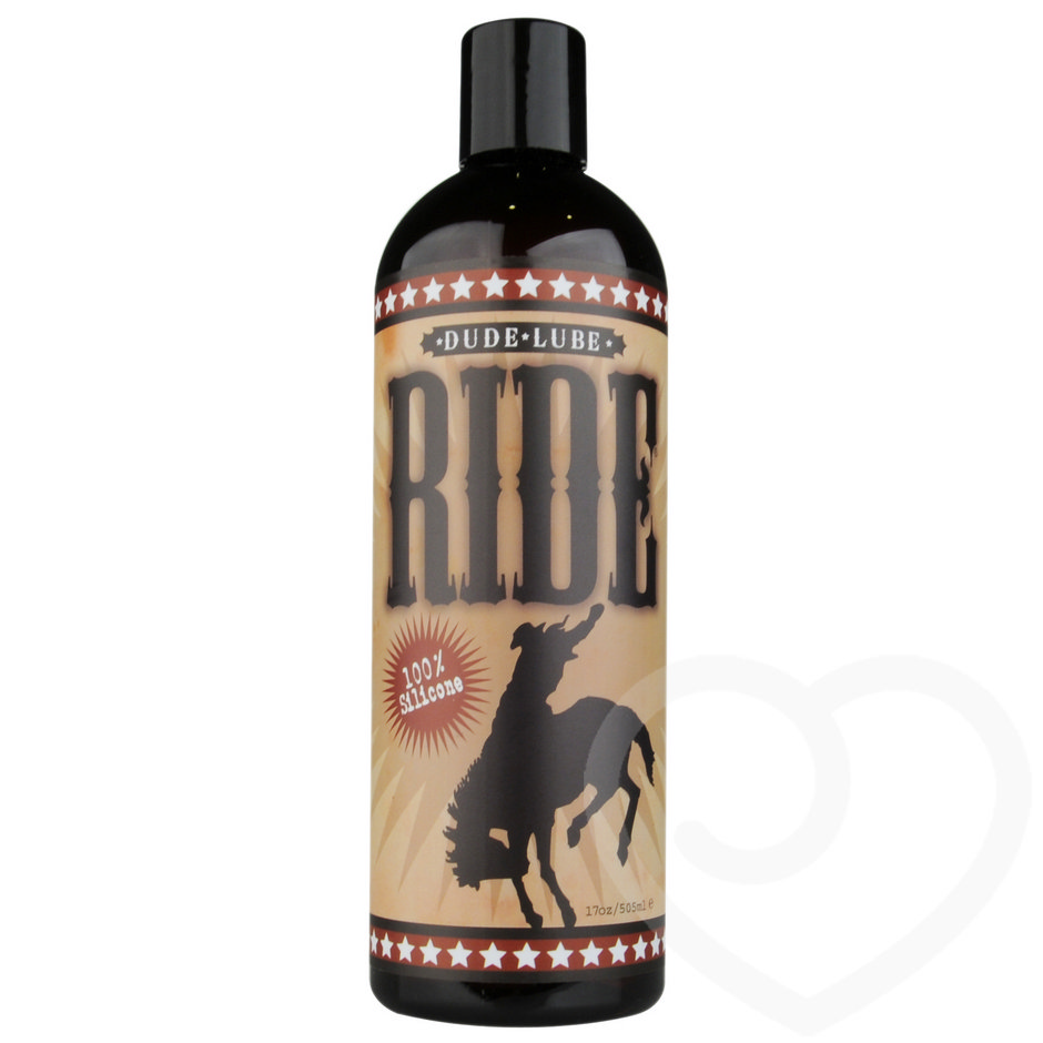 "Sliquid Ride Gleitmittel ""Dude Lube"" auf Silikonbasis, 505 ml"