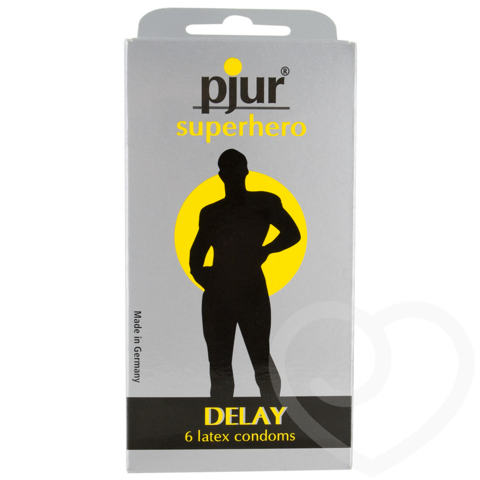 Pjur Superhero Delay Condoms (6 Pack)